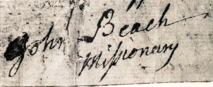 rev. John Beach signature small cropped