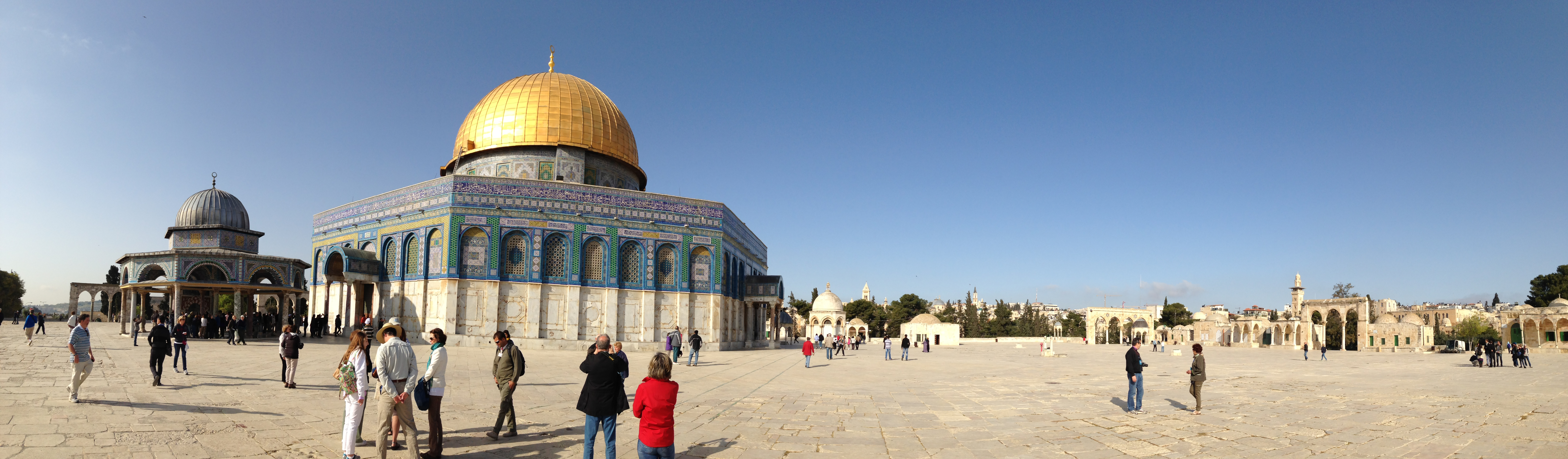 2014 dome of the rock pano